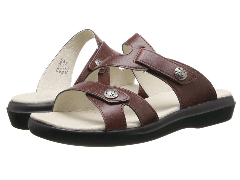 Propet - St. Lucia (Chestnut) Women's Sandals