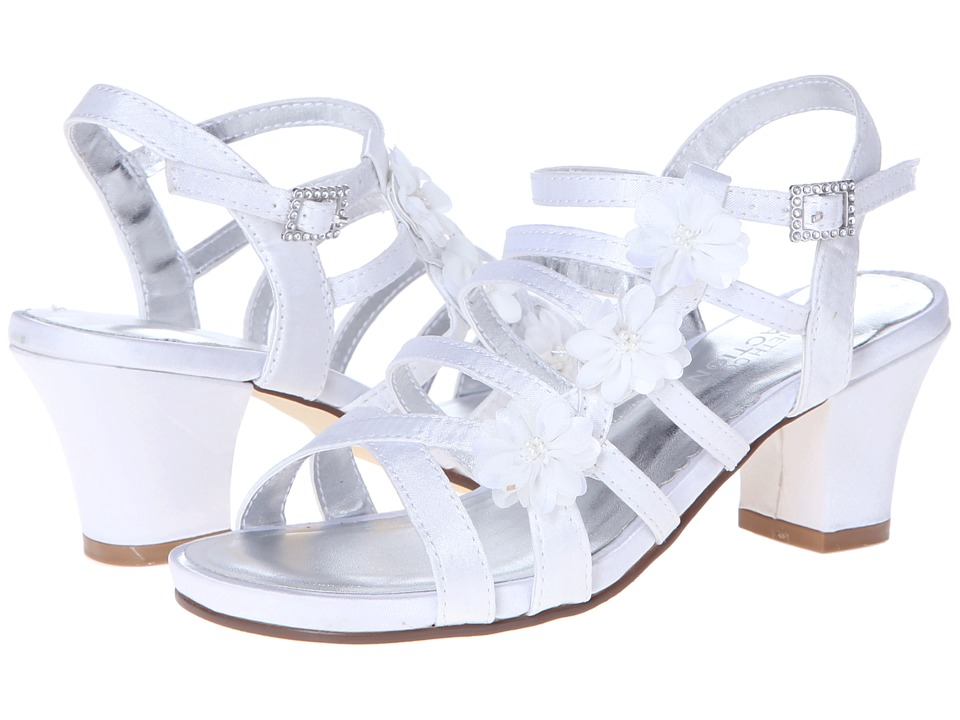 Kenneth Cole Reaction Kids Saving Chase Girls Shoes (White)
