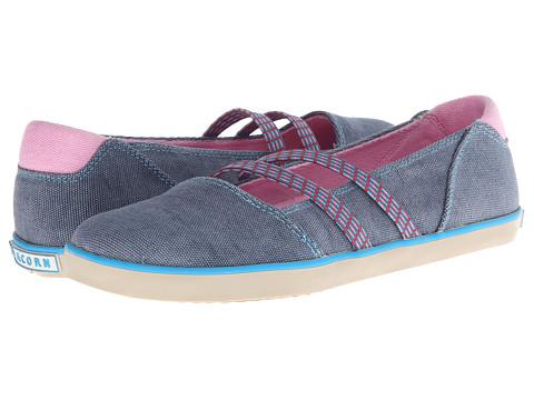 Acorn - Crossroad Moc (Indigo) Women's Shoes