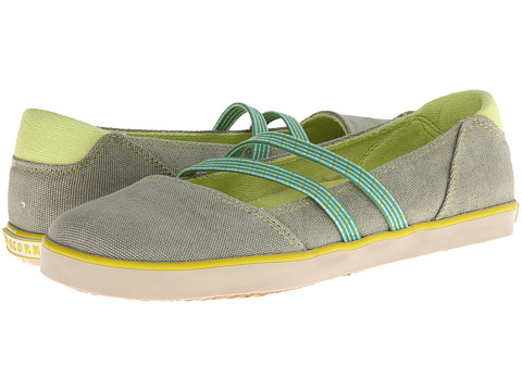 Acorn - Crossroad Moc (Celadon) Women's Shoes
