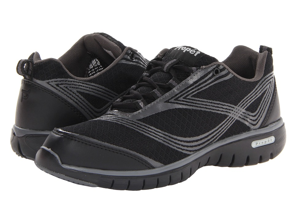 Propet - TravelLite (Black) Women's Lace up casual Shoes