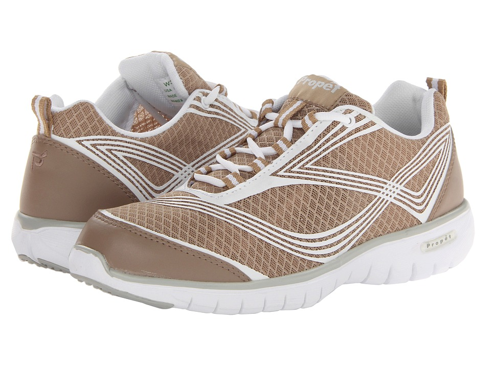 Propet - TravelLite (Taupe) Women's Lace up casual Shoes