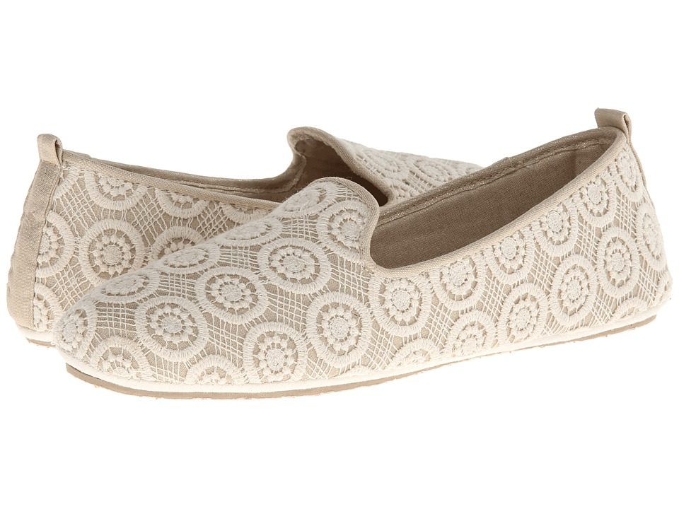 Acorn - Novella (Cream Lace) Women's Flat Shoes