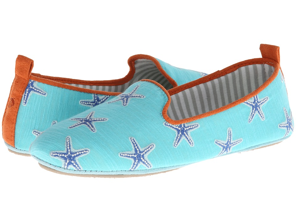 Acorn - Novella (Aqua Sea) Women's Flat Shoes