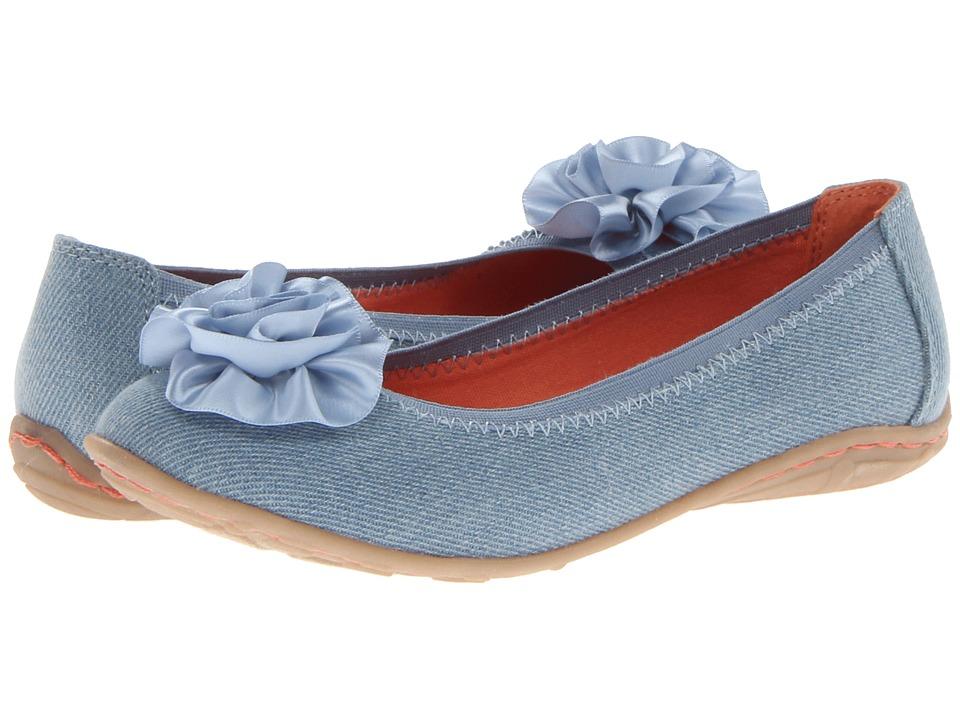 Kenneth Cole Reaction Kids Lil Bit Of Buck Girls Shoes (Blue)