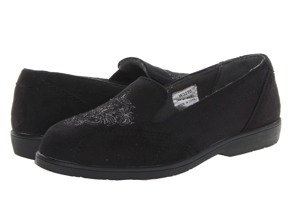 Propet - Sutton (Black Velour) Women
