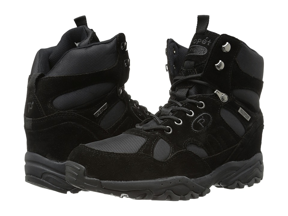 Propet - Camp Walker Hi (Black Suede) Men's Boots