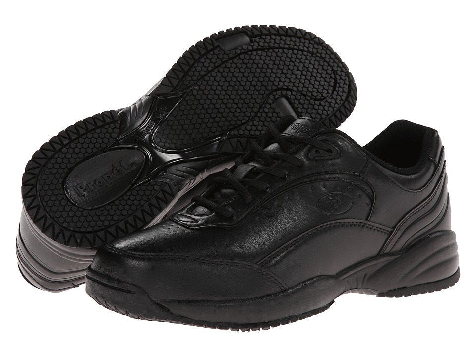 Propet - Nancy Medicare/HCPCS Code=A5500 Diabetic Shoe (Black) Women's Lace up casual Shoes