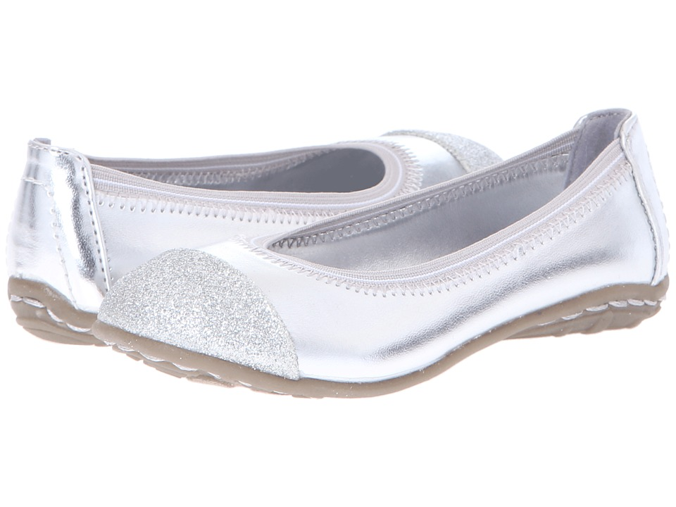 Kenneth Cole Reaction Kids Buck N Roll 2 Girls Shoes (Silver)