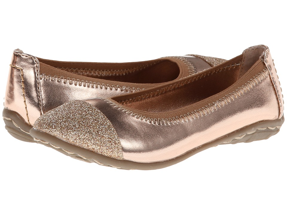 Kenneth Cole Reaction Kids Buck N Roll 2 Girls Shoes (Gold)