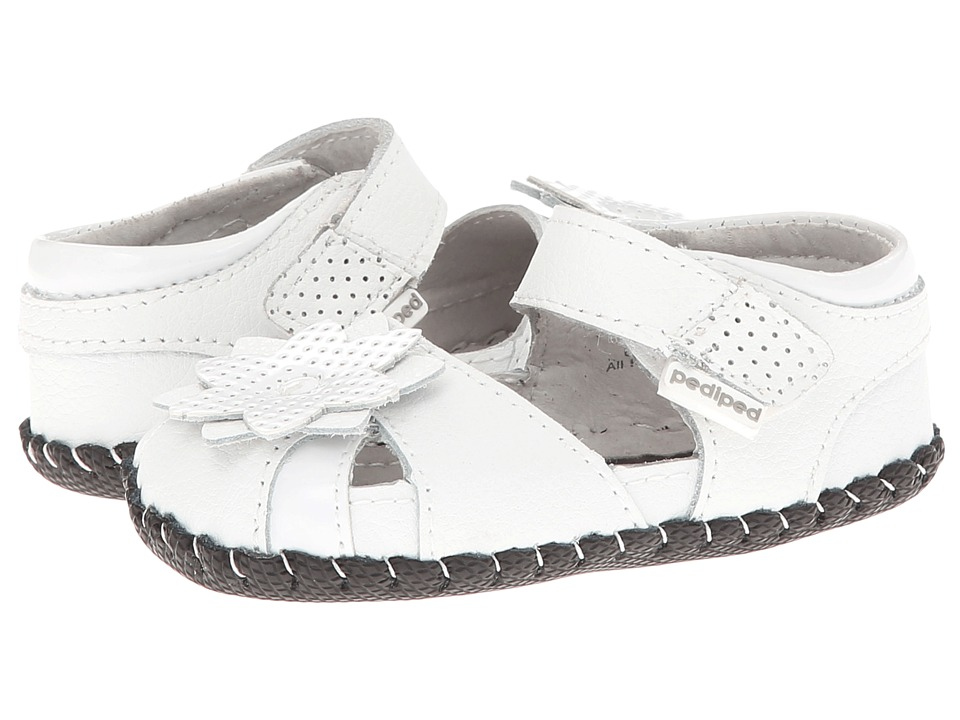 pediped - Mirabella Originals (Infant) (White) Girl's Shoes