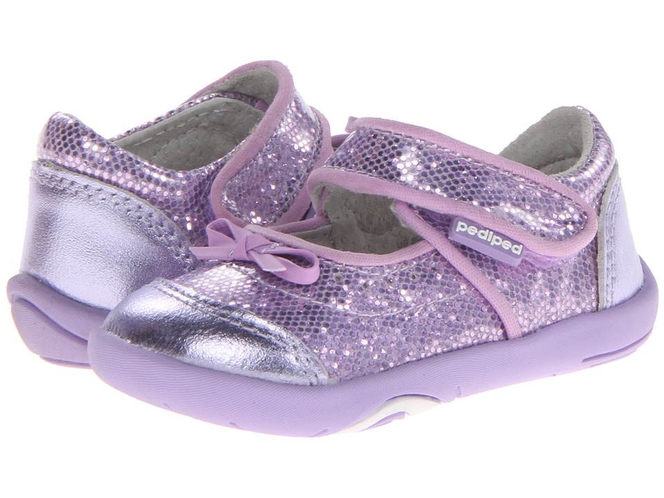 pediped - Ines Grip 'n' Go (Toddler) (Lavender) Girls Shoes