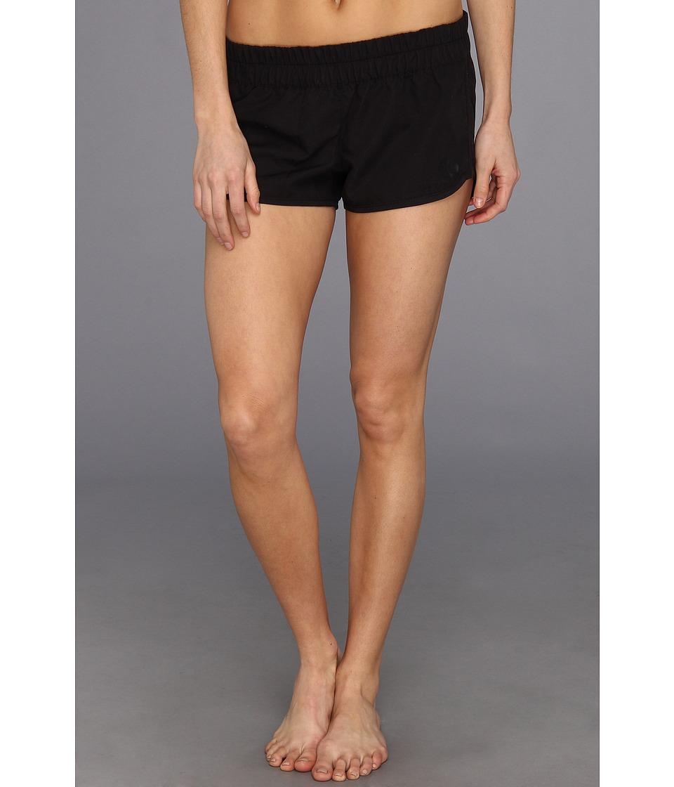 Hurley - Supersuede Solid Beachrider (Black) Women's Swimwear