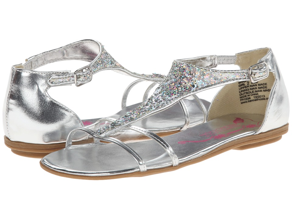 Kenneth Cole Reaction Kids Bright On Girls Shoes (Silver)