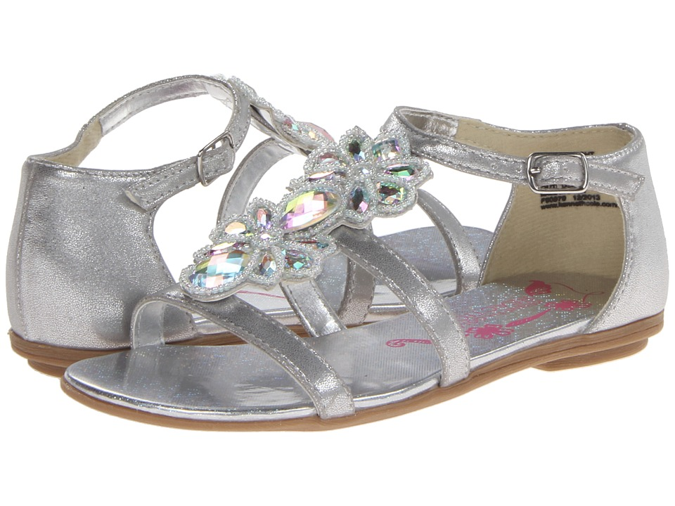 Kenneth Cole Reaction Kids - Good Bright (Little Kid/Big Kid) (Silver Metallic) Girl's Shoes