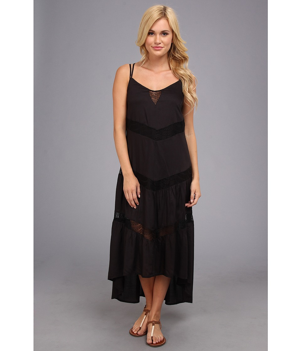 Billabong - Night Glow Dress (Off Black) Women's Dress