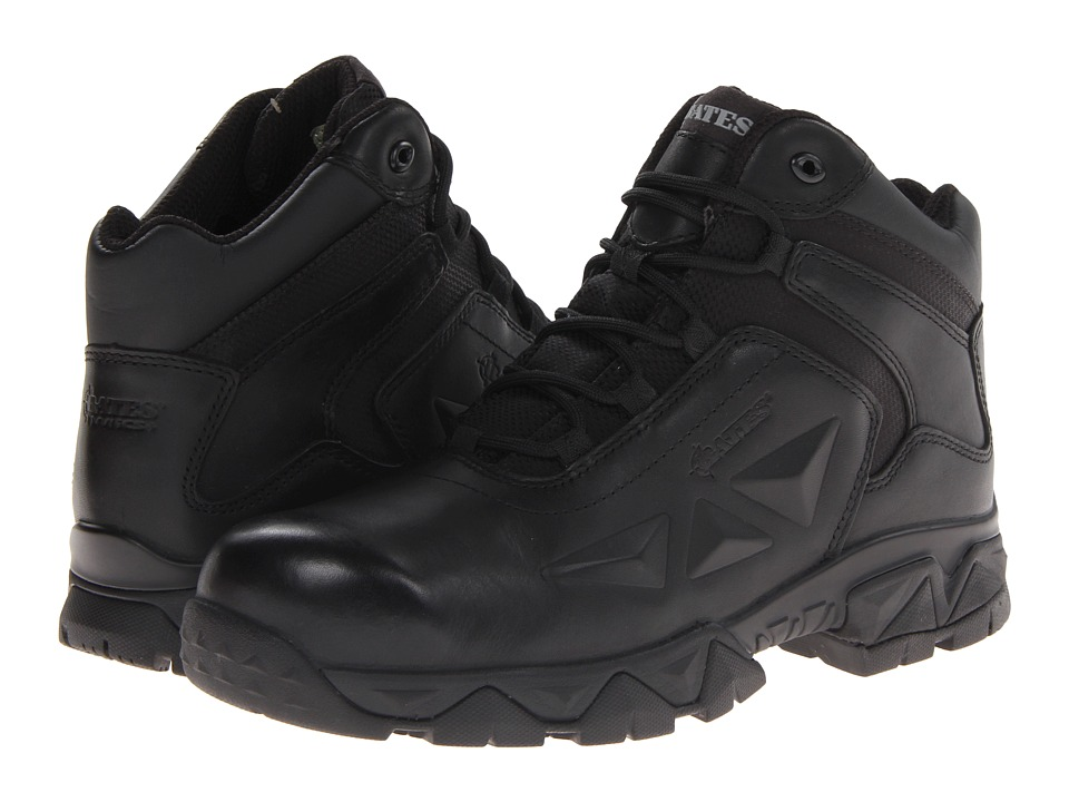 Bates Footwear - Delta Nitro-4 Boot (Black) Men's Work Boots