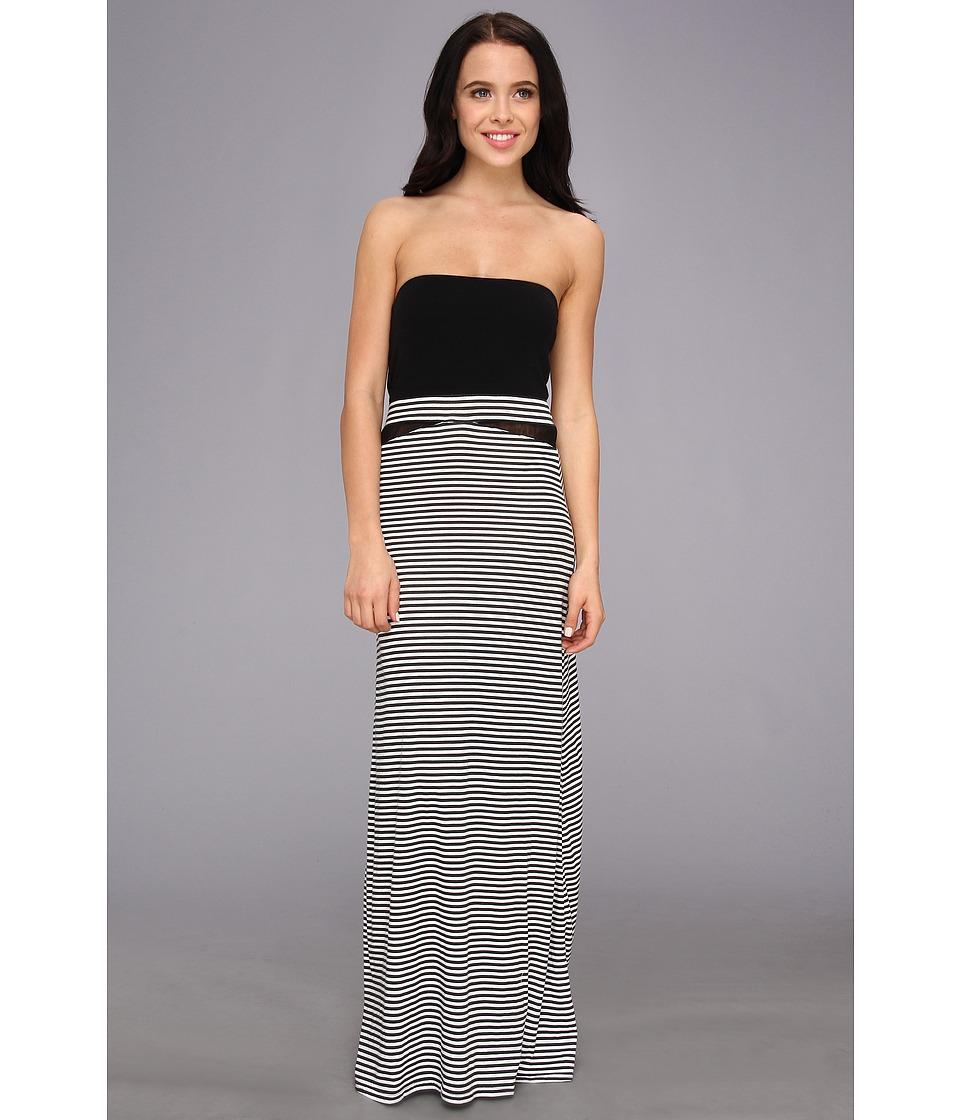 Hurley - Tomboy Mesh Maxi Dress/Optional Foldover Skirt (White 2) Women's Dress
