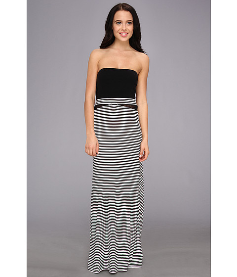 Hurley - Tomboy Mesh Maxi Dress/Optional Foldover Skirt (White 2) Women