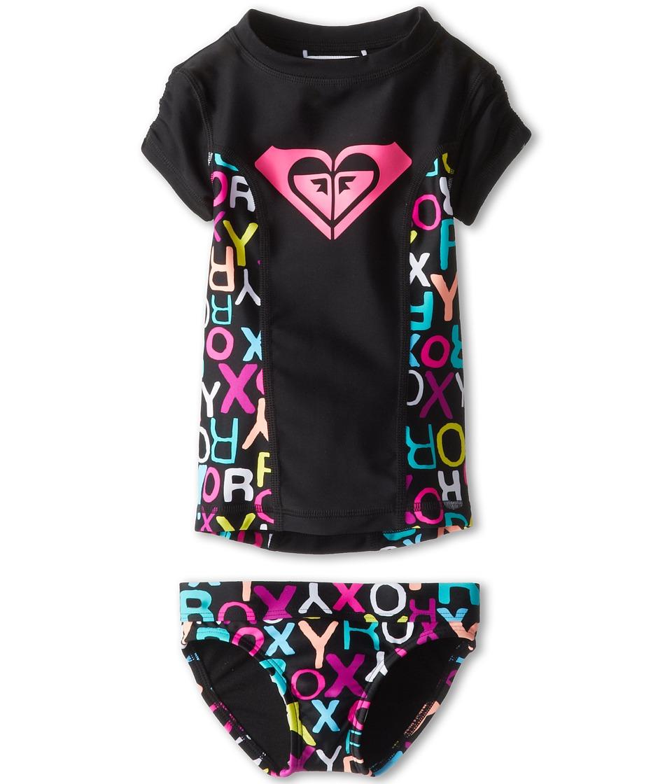 Roxy Kids Roxy Border Rashguard Set Girls Swimwear Sets (Multi)