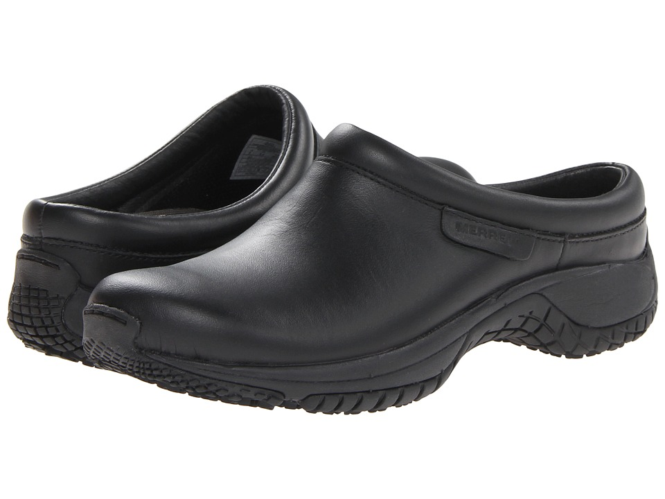 Merrell - Encore Pro Grip (Black) Women's Clog Shoes