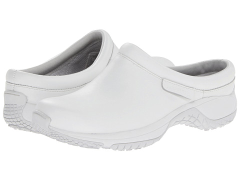 Merrell - Encore Pro Grip (White) Women's Clog Shoes