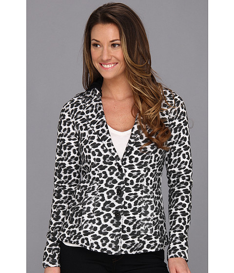 Hurley - Winchester Blazer (Juniors) (White) Women's Jacket