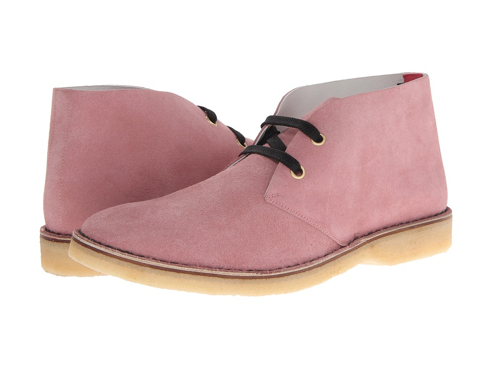 Marc Jacobs - Chukka Suede Boot (Violet Pink) Men's Boots