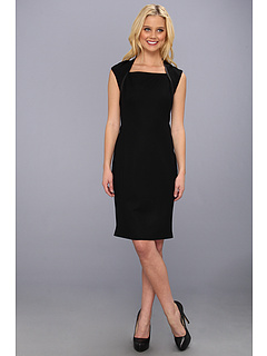 SALE! $201.99 - Save $246 on Elie Tahari Nancy Dress (Black) Apparel - 54.91% OFF $448.00