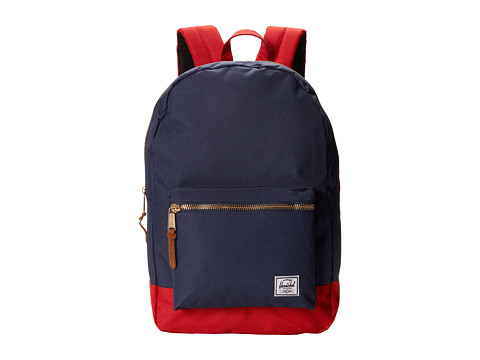 Herschel Supply Co. - Settlement (Navy/Red/Red) Backpack Bags