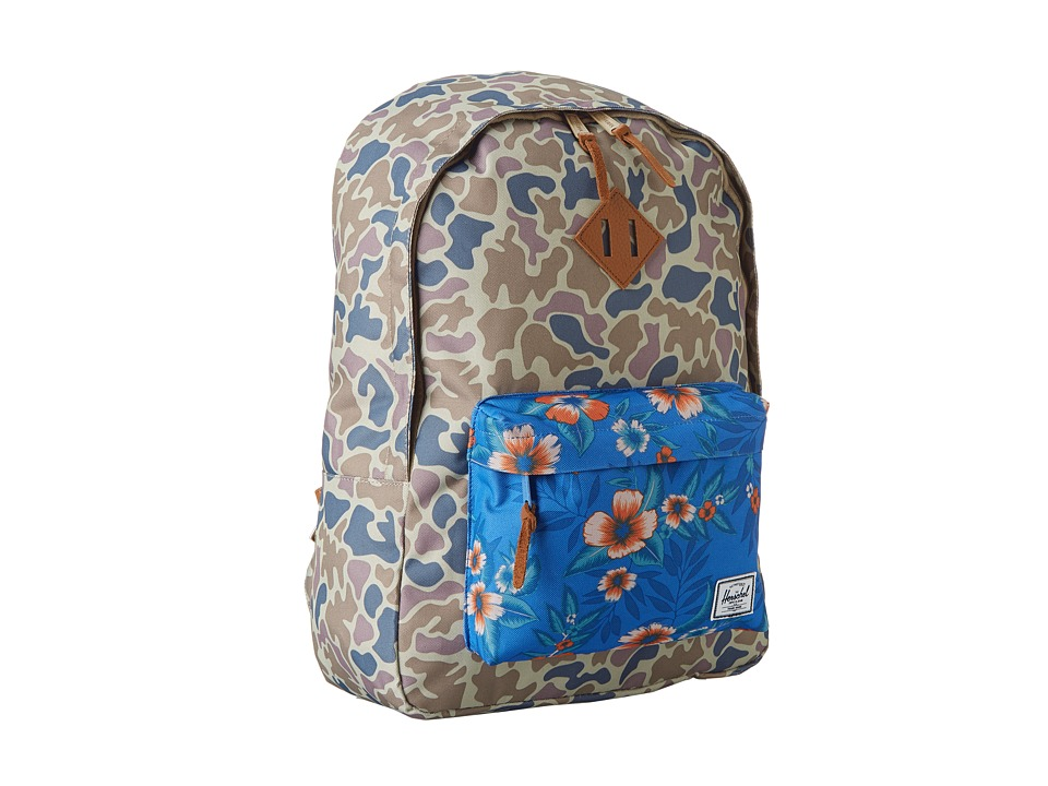 Herschel Supply Co. - Woodlands (Duck Camo/Paradise) Backpack Bags