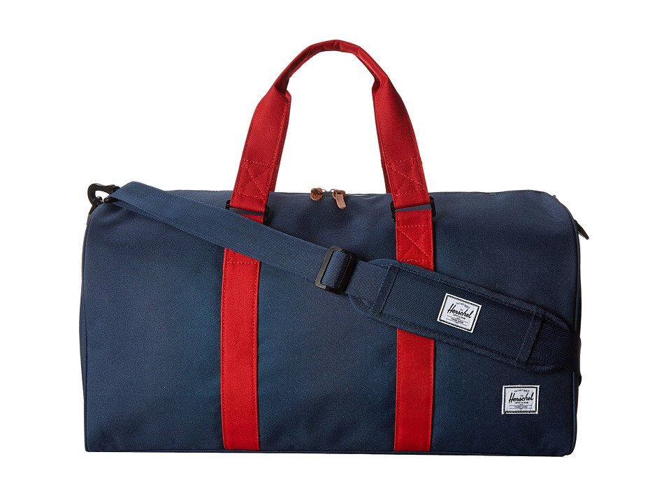 Herschel Supply Co. - Ravine (Navy/Red) Backpack Bags