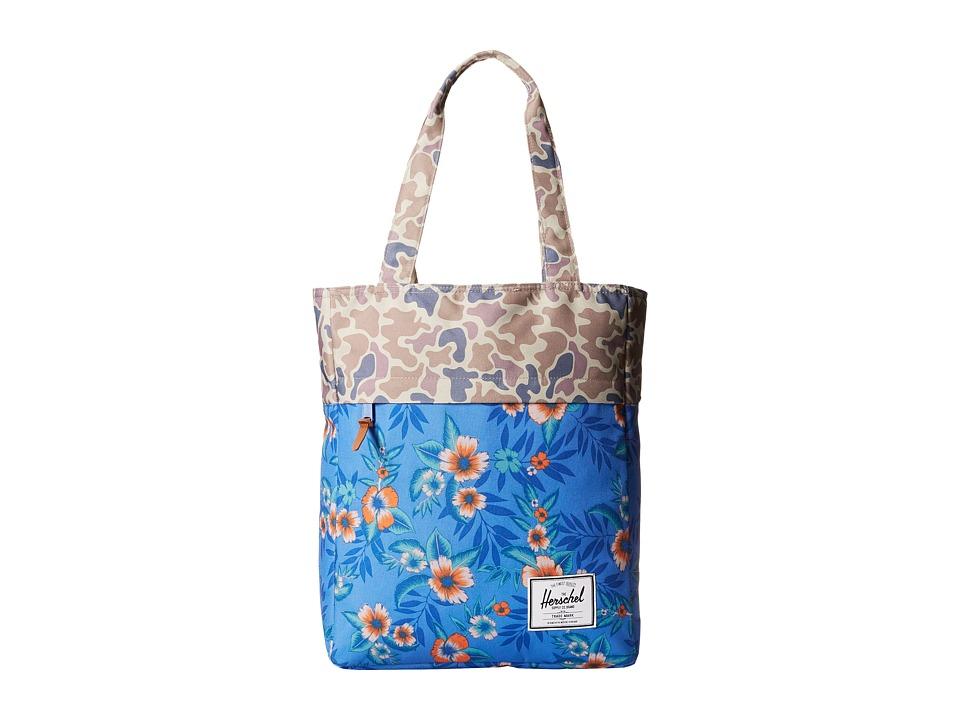 Herschel Supply Co. - Harvest (Paradise/Duck Camo) Tote Handbags