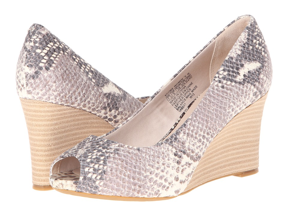 Rockport - Seven to 7 Peep Toe Wedge (Python) Women's Wedge Shoes