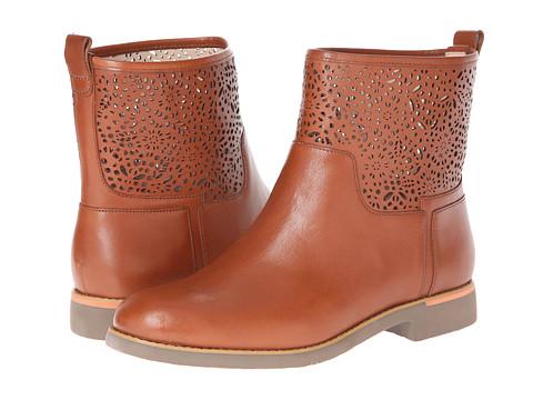 Rockport - Alanda Laser Bootie (Mocha Bis) Women's Shoes