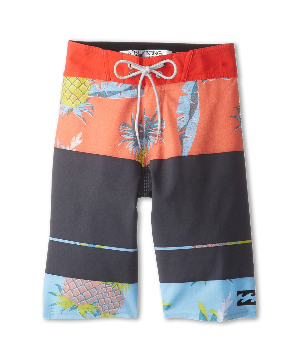 Billabong Kids Method Boardshort Boys Swimwear (Red)