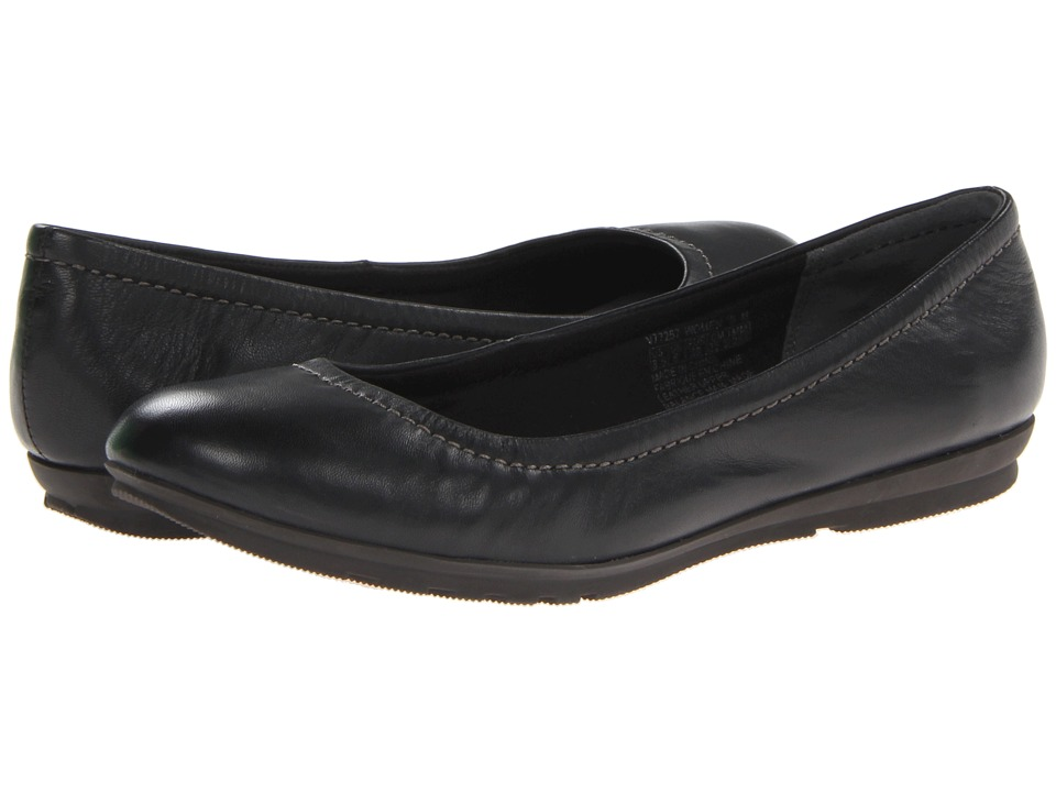Rockport - Total Motion Ballet (Black) Women's Flat Shoes
