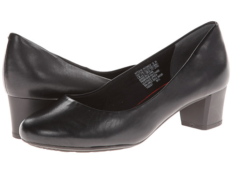 Rockport - Total Motion 45MM Plain Pump (Black) Women's 1-2 inch heel Shoes