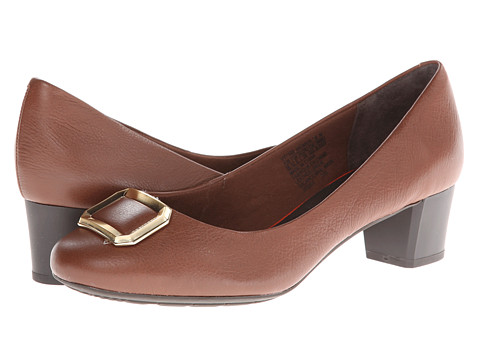Rockport - Total Motion 45MM Buckle Pump (Noce) Women's 1-2 inch heel Shoes