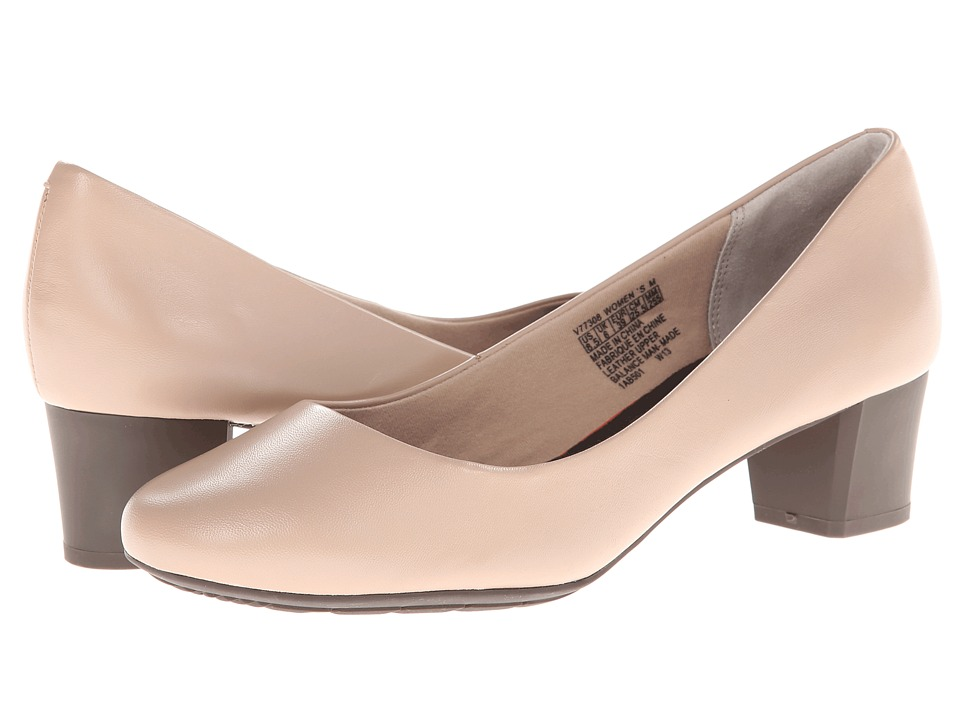 Rockport - Total Motion 45MM Plain Pump (Taupe) Women's 1-2 inch heel Shoes