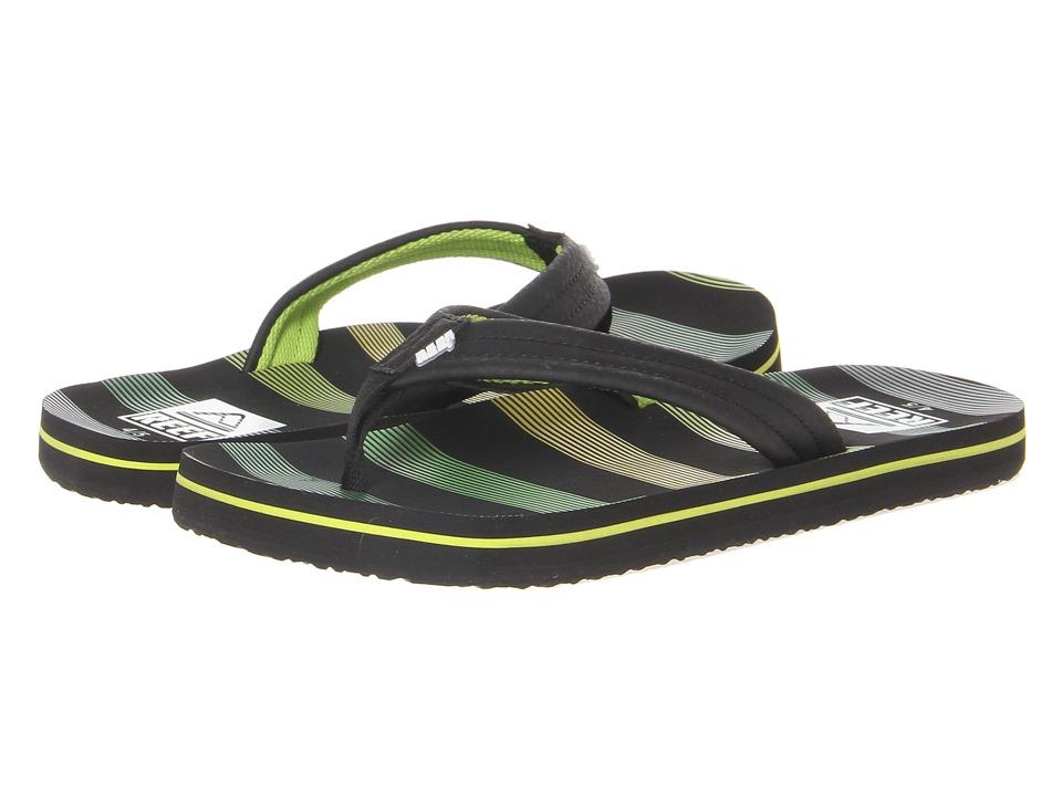 Reef Kids Ahi (Infant/Toddler/Little Kid/Big Kid) (Green Horizon) Boys Shoes