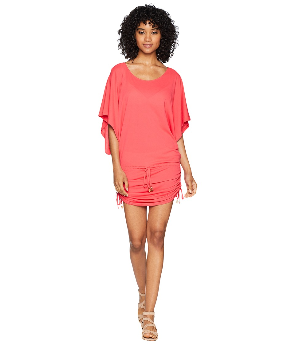 Luli Fama - Cosita Buena South Beach Dress Cover-Up (Bombshell Red) Women's Swimwear