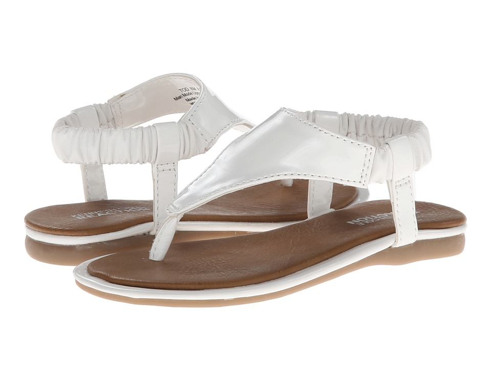 Kenneth Cole Reaction Kids Float On U Girls Shoes (White)