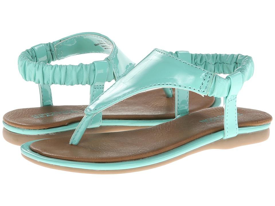 Kenneth Cole Reaction Kids Float On U Girls Shoes (Green)