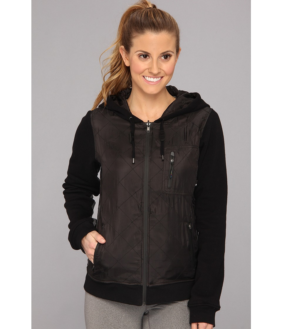 Hurley - Parachute Pack Culprit Jacket (Black) Women's Coat