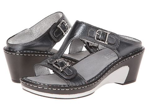 Alegria - Lara (Pewter Tumble) Women's Wedge Shoes