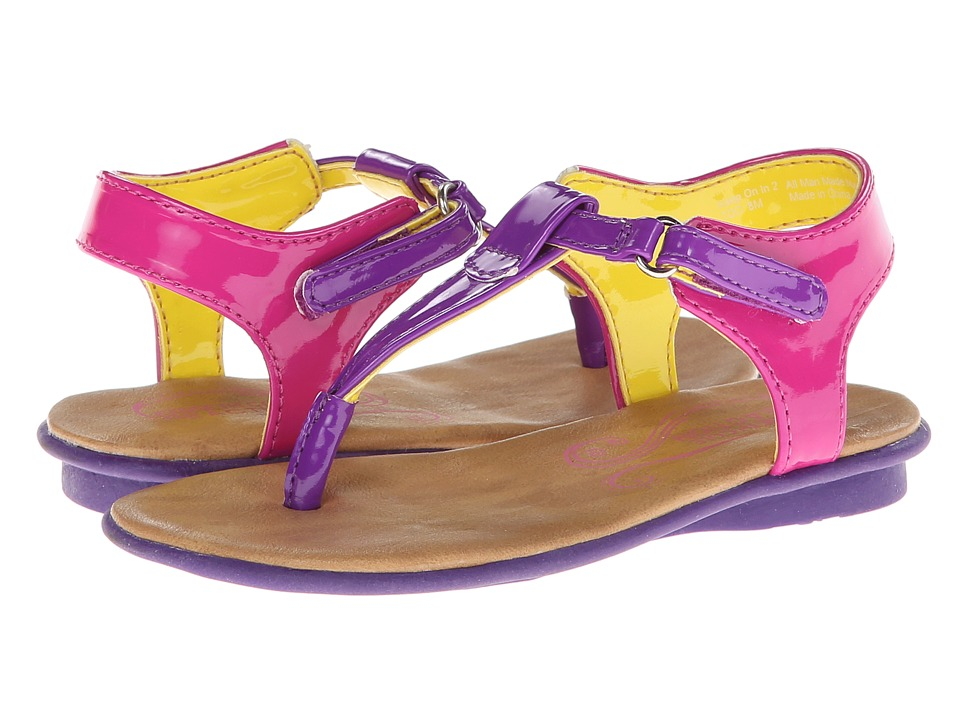 Kenneth Cole Reaction Kids Keep On In 2 Girls Shoes (Purple)