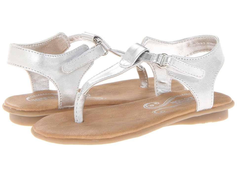 Kenneth Cole Reaction Kids Keep On In 2 Girls Shoes (Silver)