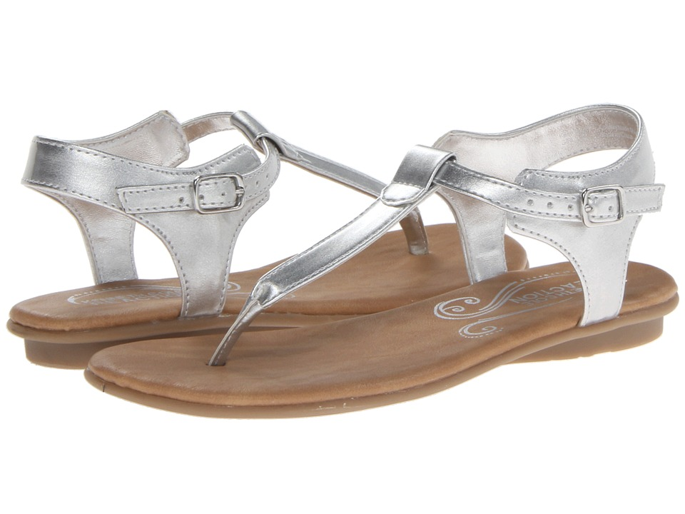 Kenneth Cole Reaction Kids Keep On In Girls Shoes (Silver)