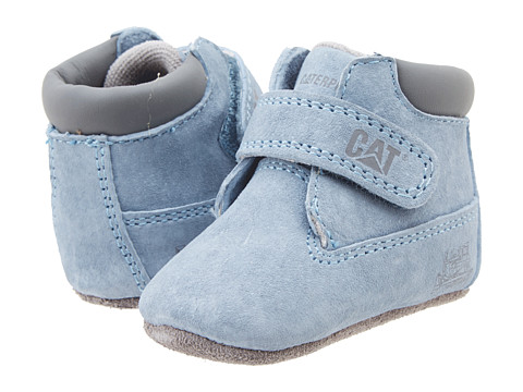 Caterpillar Kids - Precious (Infant/Toddler) (Blue Suede) Kids Shoes